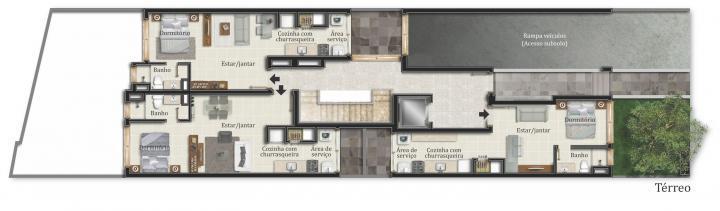 IMÓVEIS vende apartamento/loft, novo, apenas 15 unidades, várias opções de tamanhos, 40, 45 e 47m, perto de todos os recursos do bairro Bom Fim e acesso para universidades. Opção de compra de box/vaga/garagem no prédio.